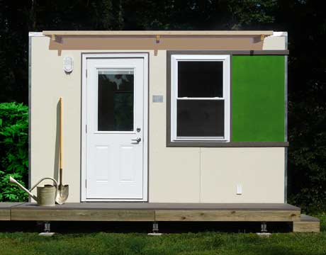 Prefabricated, Modular Shed By M Finity. Part 79