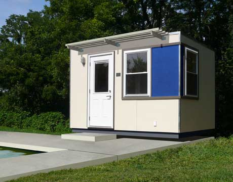 9 modular homes designs custom prefab homes for Modular pool house