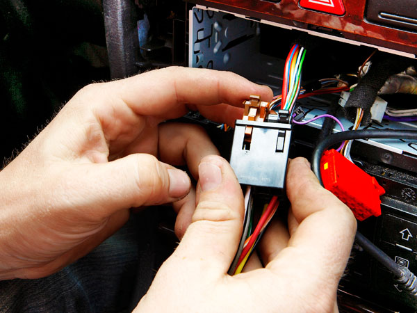 Wiring can be the most difficult task in car stereo installation
