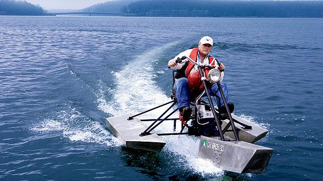 The waterbike diy rally 2007 part 1 for Kawasaki outboard boat motors