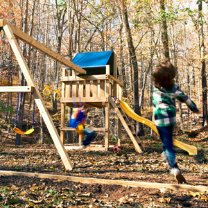 How To Build A Wooden Swing Set From Scratch