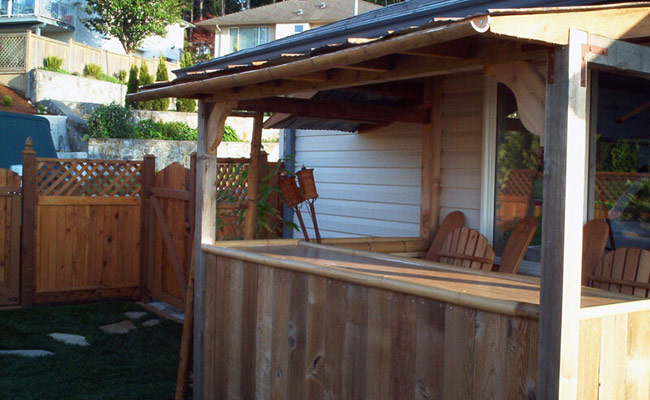 Backyard Tiki Bar Plans : Backyard Bar Plans Best tiki bar plans ? how to build a tiki bar in