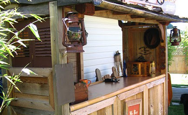 Pool Tiki Bar Ideas 16 smart and delightful outdoor bar ideas to try Step 11 Finishing Touches