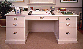 how to build an office desk
