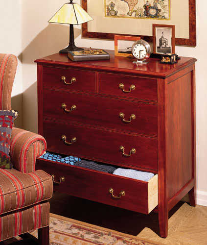How To Build A Classic 5 Drawer Cherry Dresser