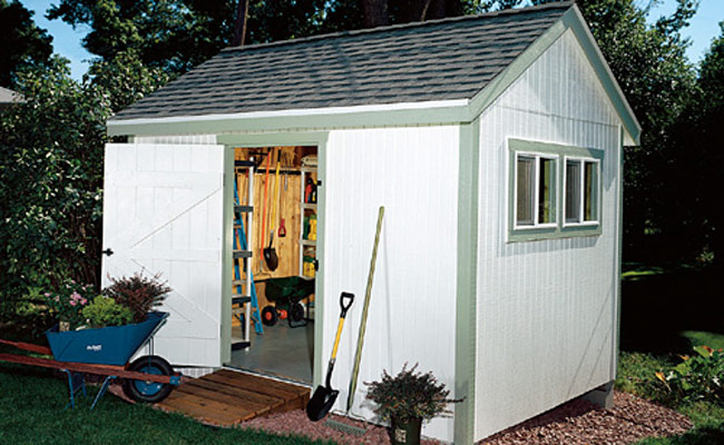 Garden Shed Designs organize your garden shed A Spacious Storage Shed That Anyone Can Build