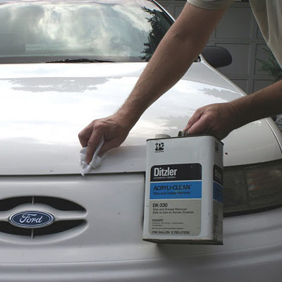 How To Repair Big Paint Chips On Car