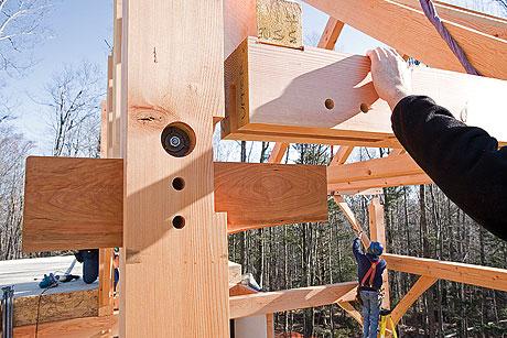 most popular larger timber frame