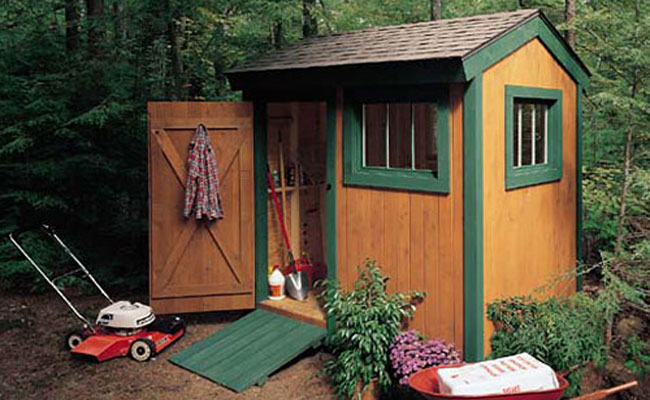 Super shed indoor shelter for your outdoor tools for Garden tool shed plans