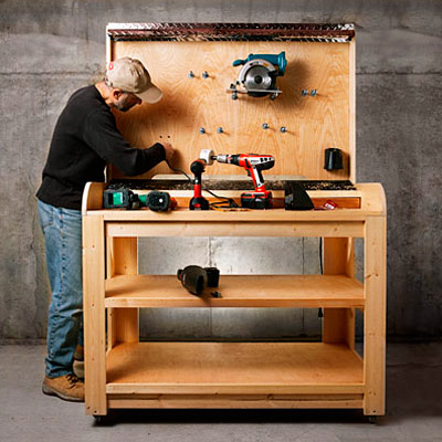 Cordless charging station plans how to build a charging for Tools to build a house