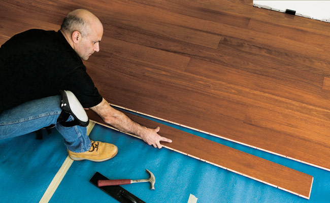 How To Install A Hardwood Floor How To Build A Hardwood
