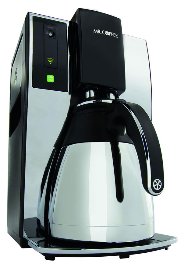 Brew a Pot From Your Bed With This Wi-Fi Coffee Maker