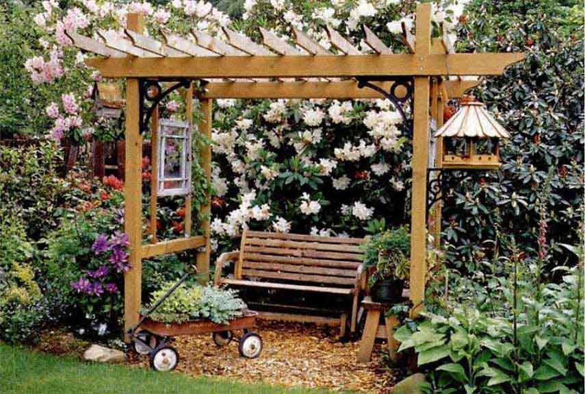 5 THE MODERN TWIST & decorating pergolas ideas | My Web Value