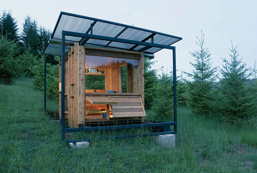 Small Green Homes   Small Eco Houseswatershed house small eco cabin