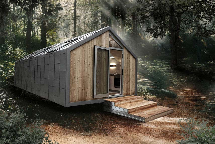 Awe Inspiring Small Green Homes Small Eco Houses Largest Home Design Picture Inspirations Pitcheantrous