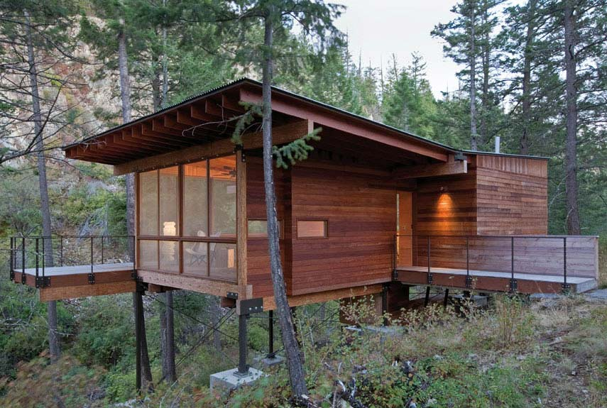 Enjoyable Small Green Homes Small Eco Houses Largest Home Design Picture Inspirations Pitcheantrous