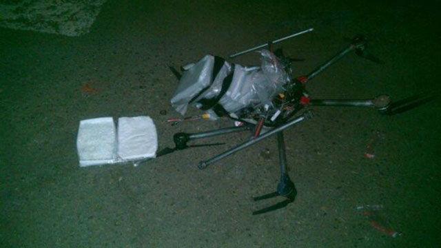 无人机携带冰毒于美墨边境坠毁 第1张