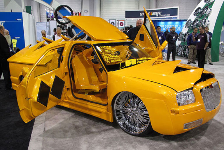 The Ugliest Cars At SEMA 2011