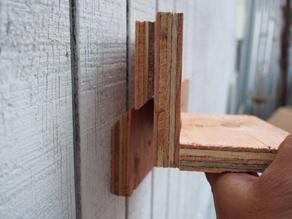 live within!: how to build a french cleat shelf Attach Shelf to Wall