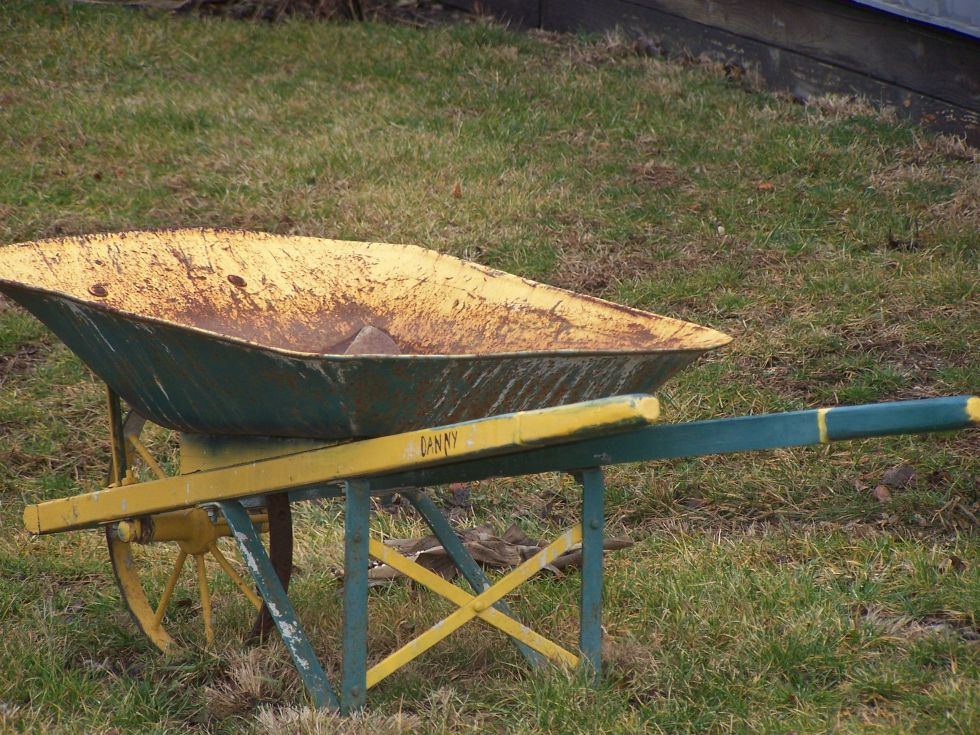 Workhorse wheelbarrows have a limited lifespan, but you can put them out to pasture in a few creative ways.