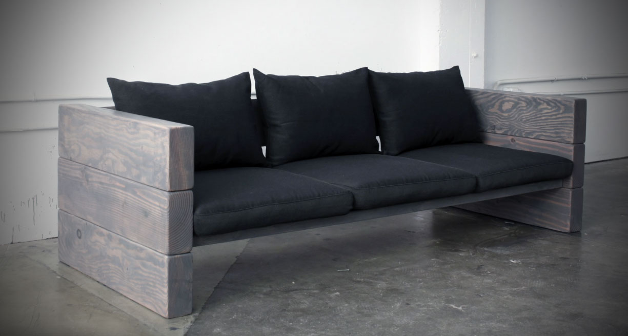 How to Make a Modern Outdoor Sofa for Cheap - Best DIY ...