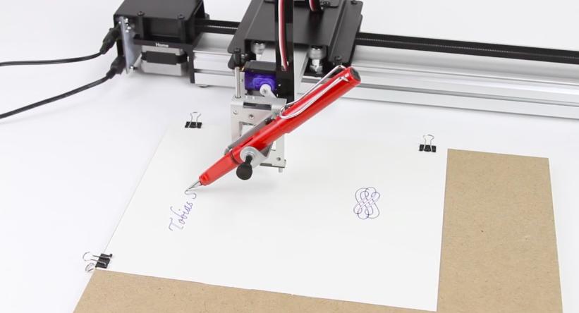 axidraw writing robot