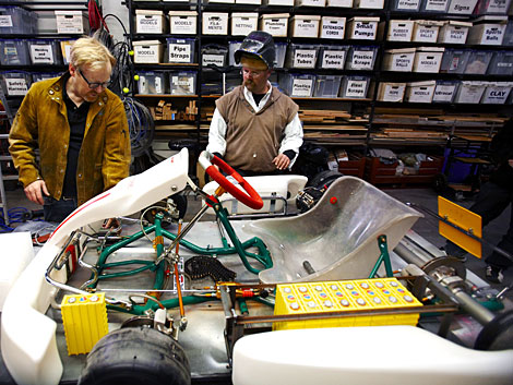 MythBusters Hack Go-Kart in Extreme Electric vs. Gas Test